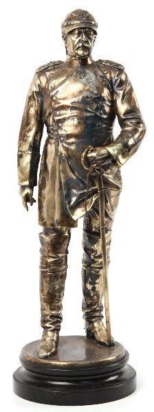 METAL ALLOY STATUE OF PAUL VON HINDENBURG