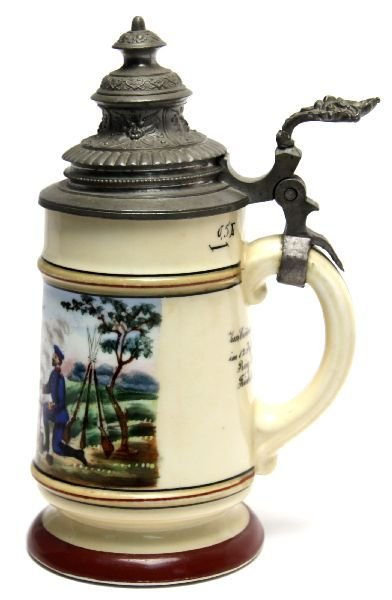 IMPERIAL GERMAN 12TH REGIMENTAL STEIN