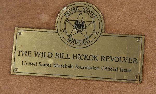 REPLICA PISTOLS OF WYATT EARP AND WILD BILL HICKOK - 6