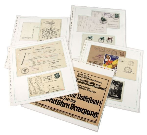 GERMAN WWII HITLER YOUTH DOCUMENTS