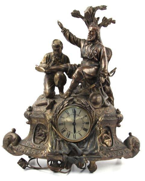 ITALIAN GARBALDI DECORATIVE CLOCK