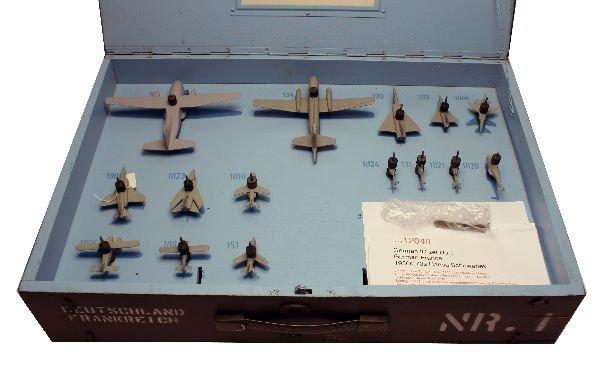 GERMAN FRENCH AIRCRAFT ID MODELS SET NO. 1