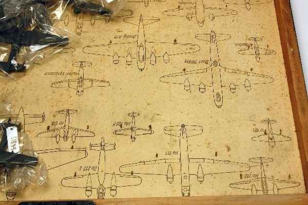 WIKING SET OF AIRPLANE ID MODELS