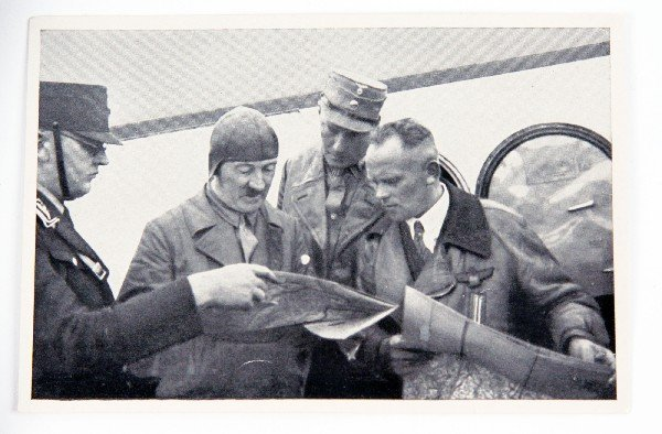 WWII FLIGHT HELMET JUST LIKE HITLER WORE - 2