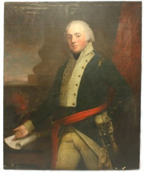 PORTRAIT OF WILLIAM WALCOT BY KEATING DATED 1799