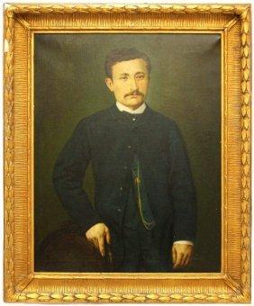 PORTRAIT OF A MAN 19TH OR 20TH CENTURY MAN