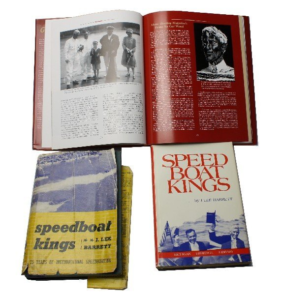 SPEEDBOAT KINGS FIRST COPY & EDITION SIGNED & MORE