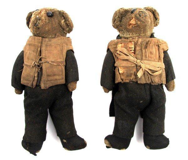 GAR WOOD TEDDY BEARS IN TUXEDOS AND PFD S