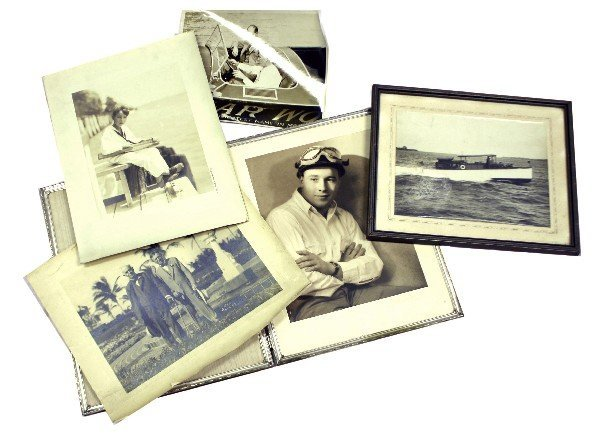 COLLECTION OF GAR WOOD FAMILY PHOTOGRAPHS