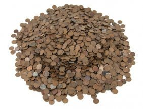US LINCOLN WHEAT CENTS BAG OF 6000+ OVER 40 POUNDS