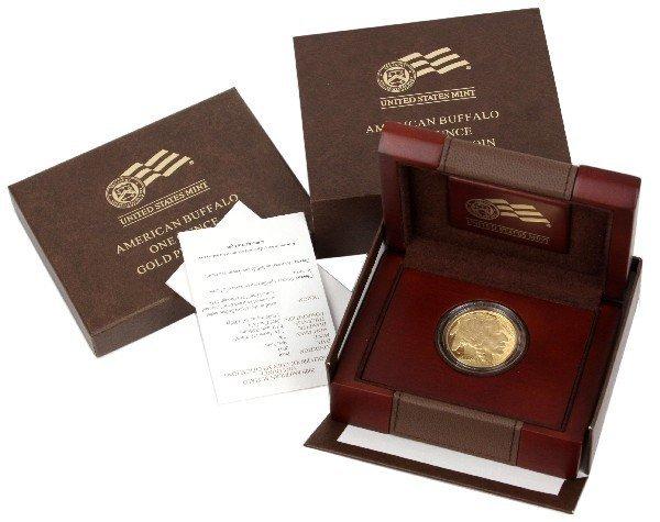 2009 W AMERICAN BUFFALO 1 OZ $50 GOLD PROOF COIN