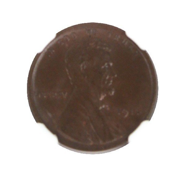 1914 LINCOLN SMALL CENT NGC MS-66 BN