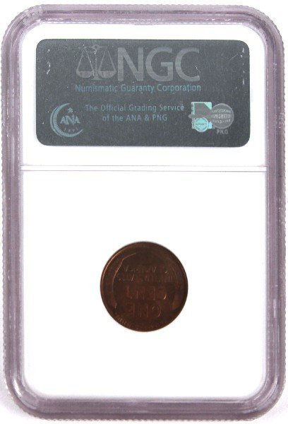 1931 S NGC MS-65 RB LINCOLN SMALL CENT - 2