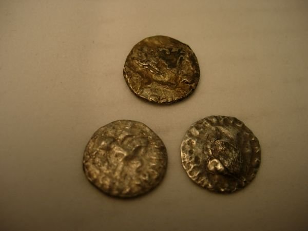 10083: SILVER DRACHM AZEZ II CHRISTMAS COINS OF THE MAG
