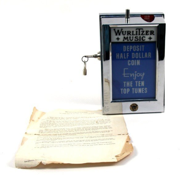 WURLITZER MODEL 5010 BAR BOX EXC CONDITION