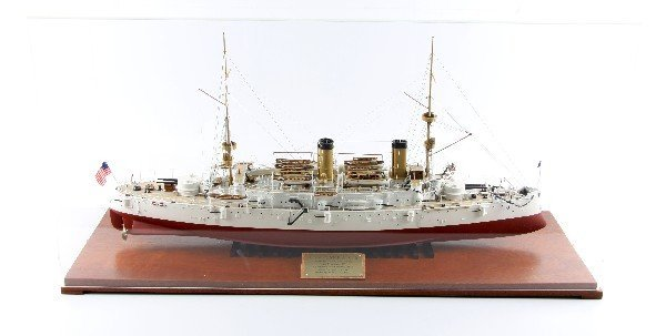 JOHN FICKLEN III MODEL OF THE USS OLYMPIA