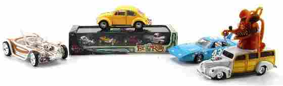 MIXED LOT OF FRANKLIN MINT & HOT WHEEL TOY CARS