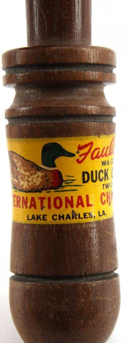 TWO DUCK CALLS DUCKS UNLIMITED & FAULKS - 2