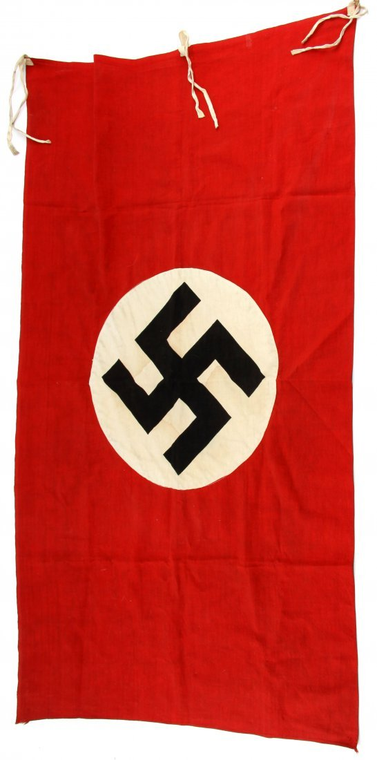 ORIGINAL WWII GERMAN NAZI PARTY BANNER EXCELLENT
