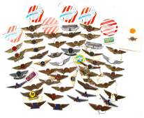 OVER 50 VINTAGE JUNIOR PILOT AIRLINE WINGS