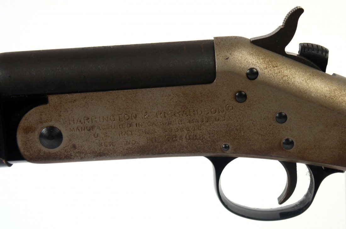 H&R TOPPER 098 SINGLE SHOT .410 SHOTGUN - 4