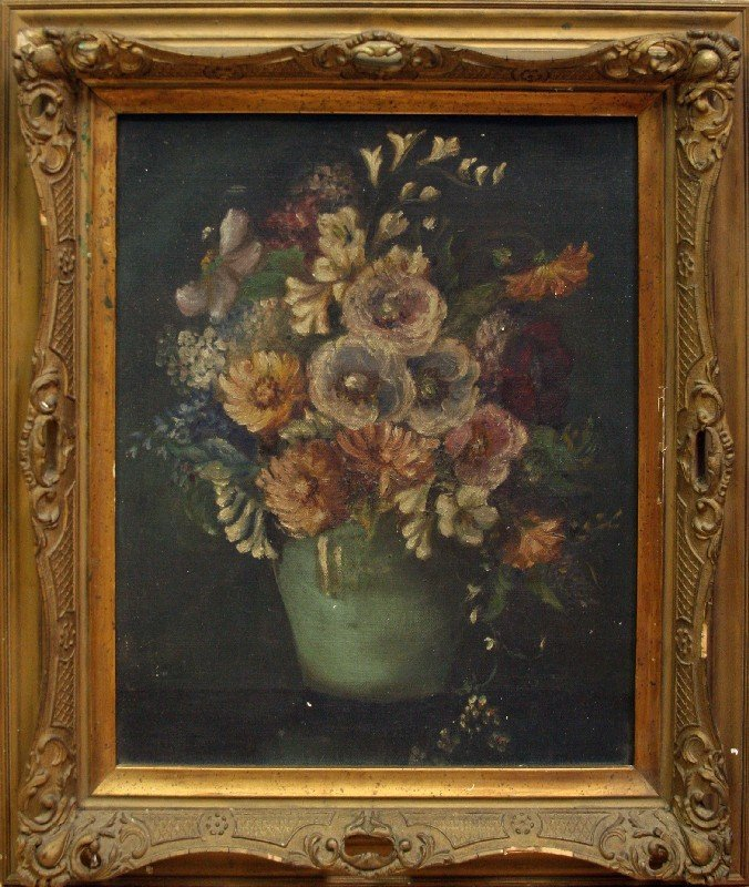 STILL LIFE WITH FLOWERS IN VASE