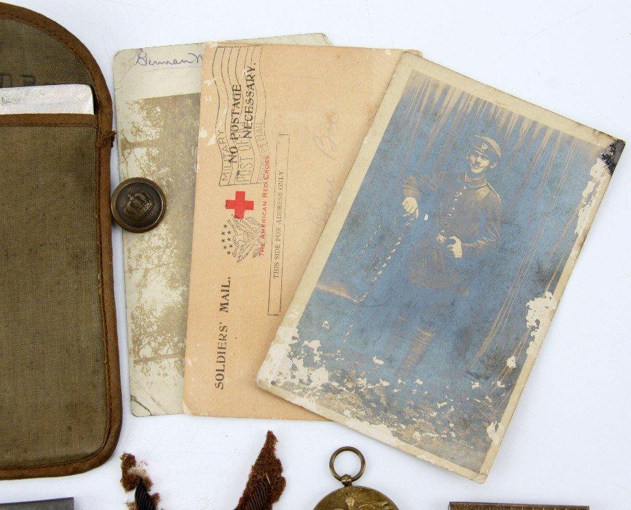 WWI WWII VETERAN BRING BACK & PERSONAL GEAR - 3