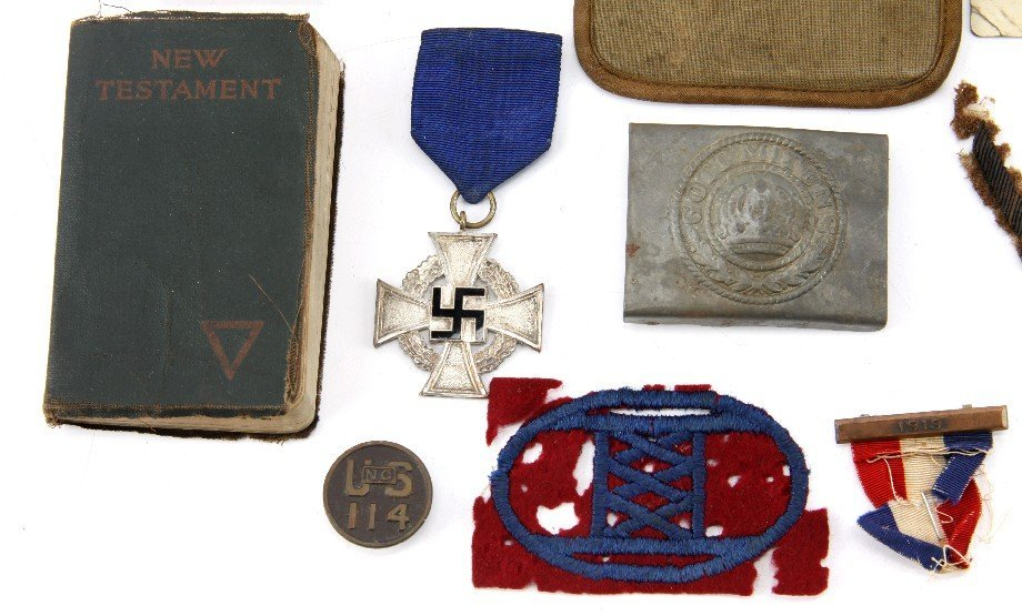 WWI WWII VETERAN BRING BACK & PERSONAL GEAR - 5