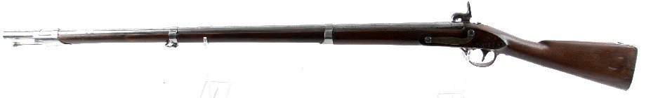 US MODEL 1816 CONVERSION A WATERS CONTRACT MUSKET - 3