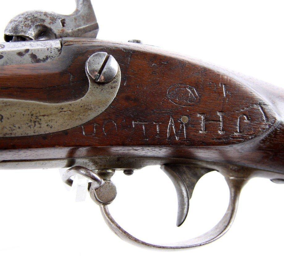 US MODEL 1816 CONVERSION A WATERS CONTRACT MUSKET - 5