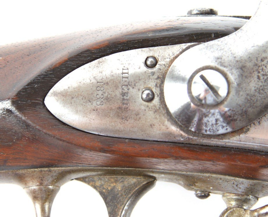 US MODEL 1816 CONVERSION A WATERS CONTRACT MUSKET - 9
