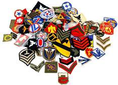 HUGE LOT OF US MILITARY PATCHES NAVY ARMY MARINE +