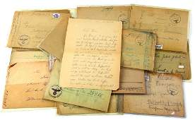 WWII GERMAN THIRD REICH COVERS LETTERS LOT OF 13