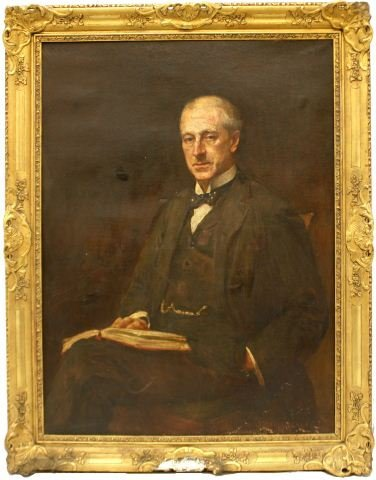19TH CEN PORTRAIT BY GEORGE HALL NEALE