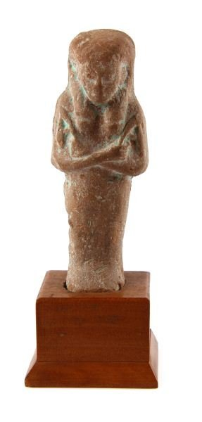 EGYPTIAN FAIENCE STONE FIGURINE