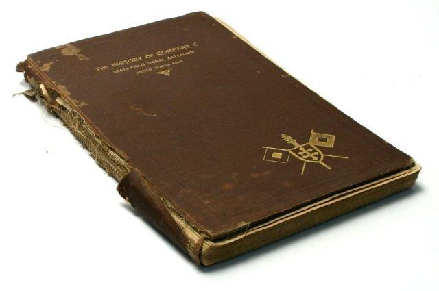 THE HISTORY OF COMPANY C 304TH, 1920