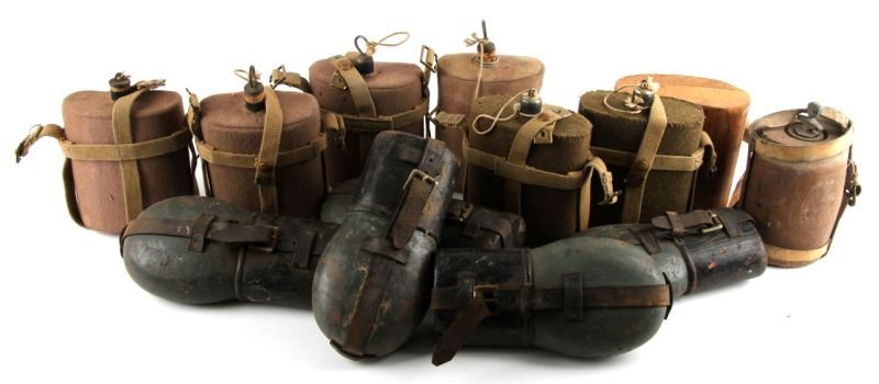MOVIE PROP COLLECTION OF WWII CANTEEN LOT