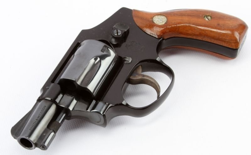 SMITH & WESSON MODEL 42 CENTENNIAL AIRWEIGHT - 4