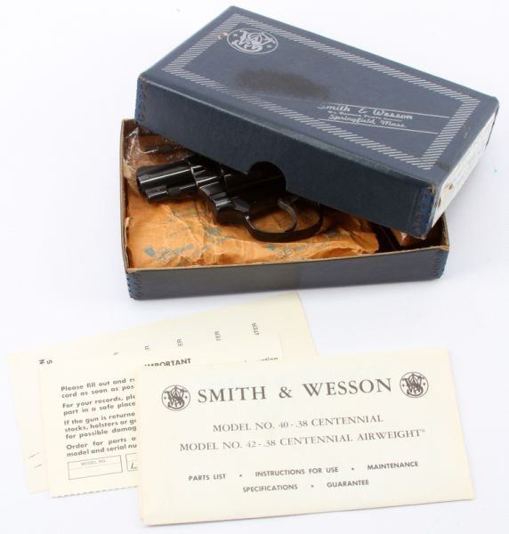SMITH & WESSON MODEL 42 CENTENNIAL AIRWEIGHT - 5