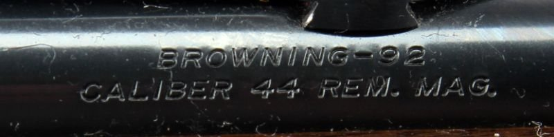 BROWNING B92 LEVER ACTION .44 MAGNUM WITH BOX 1981 - 2