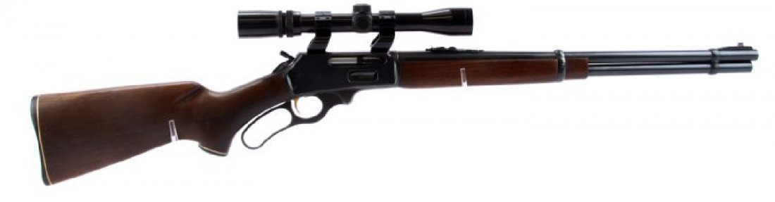 MARLIN 336 LEVER ACTION RIFLE WITH SCOPE