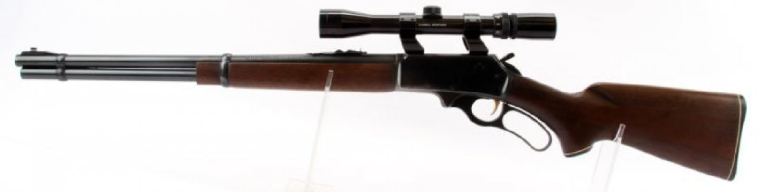 MARLIN 336 LEVER ACTION RIFLE WITH SCOPE - 2