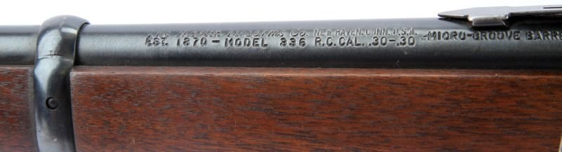 MARLIN 336 LEVER ACTION RIFLE WITH SCOPE - 4