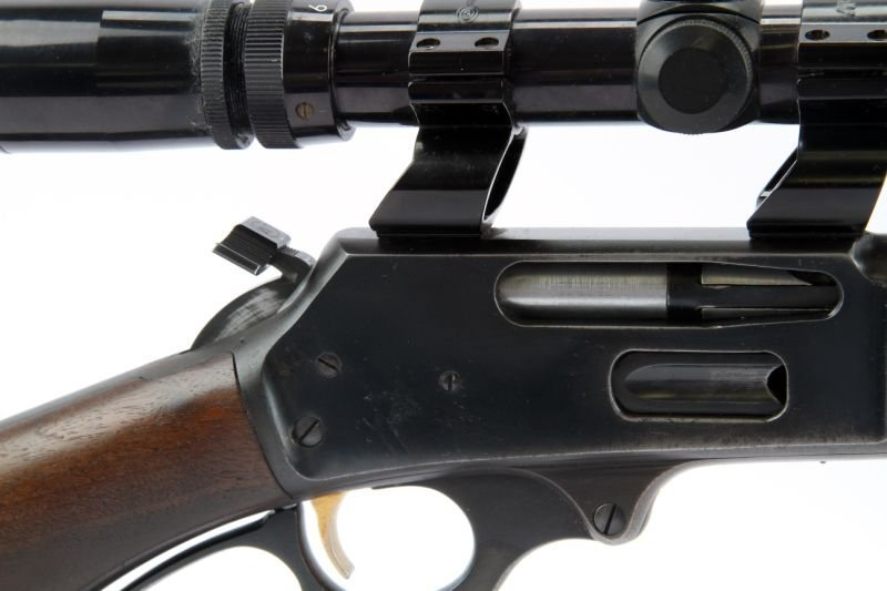MARLIN 336 LEVER ACTION RIFLE WITH SCOPE - 5