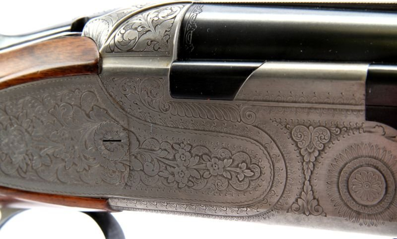 BERETTA S 57 EL 12 GAUGE OVER / UNDER - 6