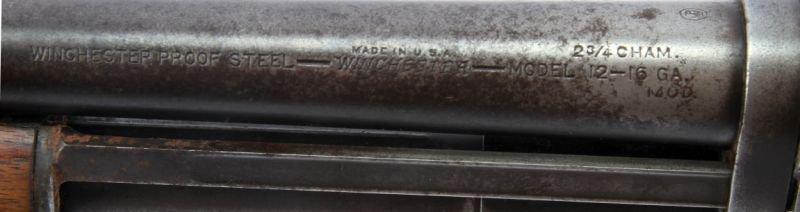 WINCHESTER MODEL 12 16 GAUGE PUMP SHOTGUN 1941 - 4