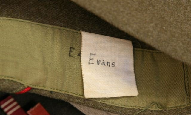 WWII US ARMY AIR CORP IKE JACKET WITH INSIGNIA - 7