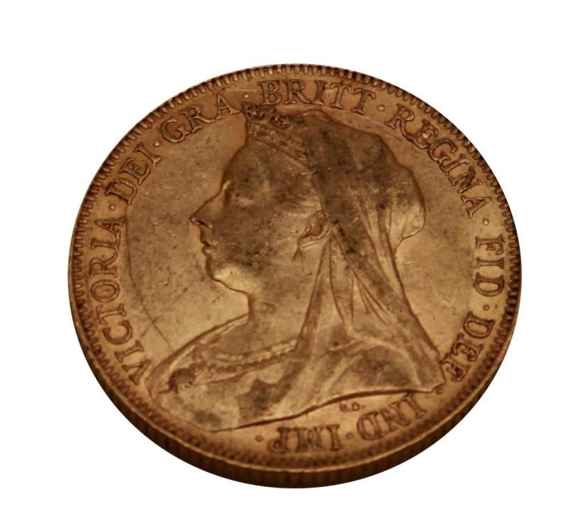 1901 GOLD VICTORIAN FULL SOVEREIGN