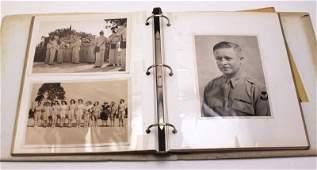 WWII PHOTO ALBUM ENGLAND FRANCE & PRESS PHOTOS