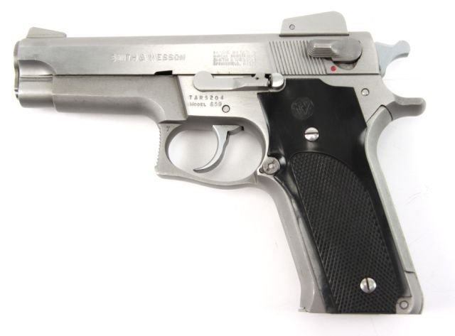 SMITH & WESSON MODEL 659 9MM PISTOL STAINLESS - 3